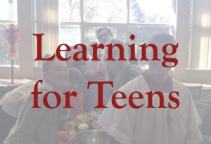Learning for Teens Button